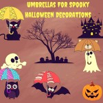 Umbrellas Make Spooky Halloween Decorations-know how?