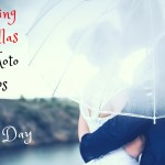 How Wedding Umbrellas Double Pull As Photo Props On A Rainy Day