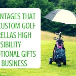 5 Advantages that make Custom Golf Umbrellas High Visibility Promotional Gifts for Business