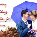 Trending Wedding Umbrellas for Summer weddings