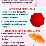 A Quick Guide On The Advantages Of Custom Umbrellas As Branding Tools