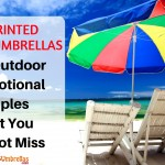 Imprinted Beach Umbrellas- The Outdoor Promotional Staples That You Cannot Miss