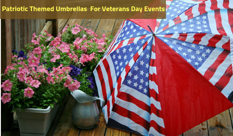 Patriotic Themed Umbrellas – Great Gift Choices For Veterans Day Events