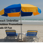 Custom Beach Umbrellas- Make Your Outdoor Promotions Loads Of Fun